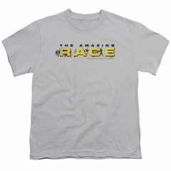The Amazing Race Kids Shirt Running Logo Silver T-Shirt