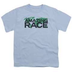 The Amazing Race Kids Shirt World Light Blue T-Shirt