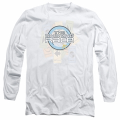 The Amazing Race Long Sleeve Shirt Road Sign White Tee T-Shirt