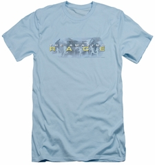 The Amazing Race Slim Fit Shirt In The Clouds Light Blue T-Shirt