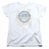 The Amazing Race Womens Shirt Road Sign White T-Shirt