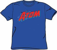 The Atom T-shirt - The Atom DC Comics Royal Blue Tee