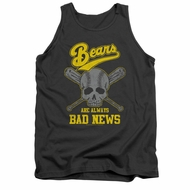 The Bad News Bears Tank Top Always Bad News Charcoal Tanktop