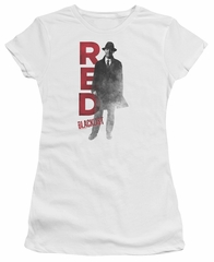 The Blacklist Juniors Shirt Red Reddington White T-Shirt