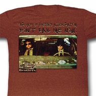 The Blues Brothers Shirt Our Lady Adult Red Heather Tee T-Shirt