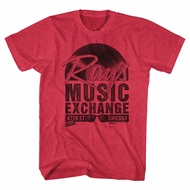 The Blues Brothers Shirt Ray's Music Exchage Heather Red T-Shirt