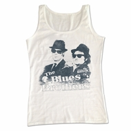 The Blues Brothers Shirt Tank Top Jake And Elwood White Tanktop