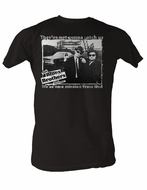 The Blues Brothers T-shirt Not Gonna Catch Us Adult Coal Tee Shirt