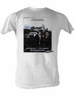 The Blues Brothers T-shirt Poster Adult White Tee Shirt
