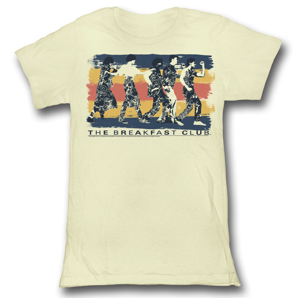 The breakfast club juniors shirt dance away natural tee t for T shirts for clubs