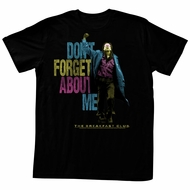 The Breakfast Club Shirt About Me Colorful Black T-Shirt