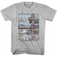The Breakfast Club Shirt Who They Are Athletic Heather T-Shirt
