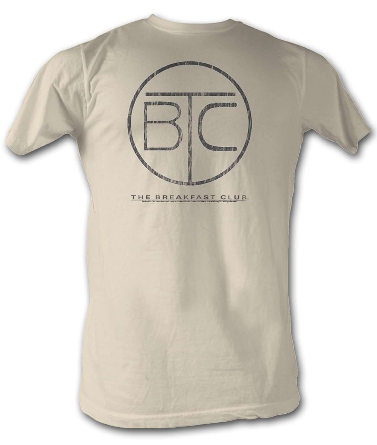 The breakfast club t shirt bfc circle logo dirty white tee for T shirts for clubs