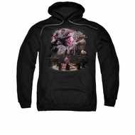 The Dark Crystal Hoodie Sweatshirt Power Mad Black Adult Hoody Sweat Shirt