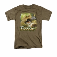 The Dark Crystal Shirt Fizzgig Adult Safari Green Tee T-Shirt