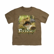 The Dark Crystal Shirt Fizzgig Kids Safari Green Youth Tee T-Shirt