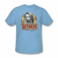 The Dark Crystal Shirt Kira Circle Adult Light Blue Tee T-Shirt