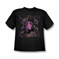 The Dark Crystal Shirt Lust For Power Kids Black Youth Tee T-Shirt