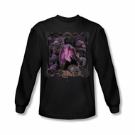 The Dark Crystal Shirt Lust For Power Long Sleeve Black Tee T-Shirt