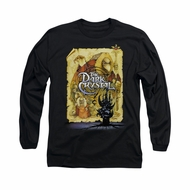 The Dark Crystal Shirt Poster Long Sleeve Black Tee T-Shirt