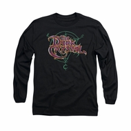 The Dark Crystal Shirt Symbol Logo Long Sleeve Black Tee T-Shirt