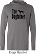The Dog Father Black Print Lightweight Hoodie Tee