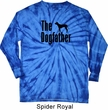 The Dog Father Black Print Long Sleeve Tie Dye Shirt