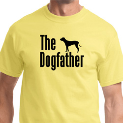 The Dog Father Black Print Shirts