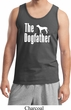 The Dog Father White Print Mens Tank Top