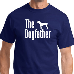 The Dog Father White Print Shirts