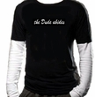 The Dude Abides T-Shirt - Twofer Shirt-In-Shirt Adult Long Sleeve