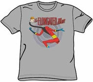 The Elongated Man T-shirt - DC Comics Adult Gray Tee