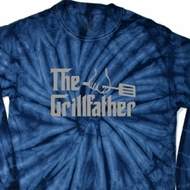 The Grill Father Long Sleeve Tie Dye Shirt