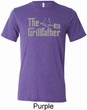 The Grill Father Mens Tri Blend Crewneck Shirt