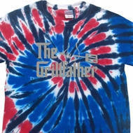 The Grill Father Patriotic Tie Dye Shirt