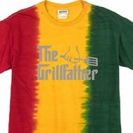 The Grill Father Premium Tie Dye Shirt