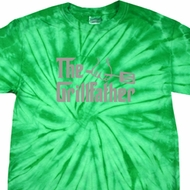 The Grill Father Spider Tie Dye Shirt