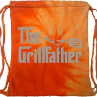 The Grill Father Tie Dye Bag