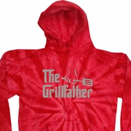 The Grill Father Tie Dye Hoodie