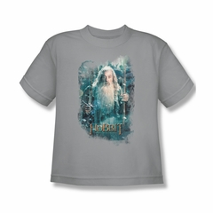 The Hobbit Battle Of The Five Armies Shirt Kids Gandalf's Army Silver Youth Tee T-Shirt
