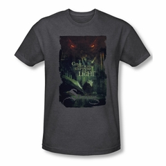 The Hobbit Battle Of The Five Armies Shirt Taunt Adult Heather Charcoal Tee T-Shirt