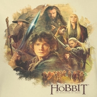 The Hobbit Desolation Of Smaug Collage Shirts