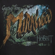The Hobbit Desolation Of Smaug Greetings From Mirkwood Shirts