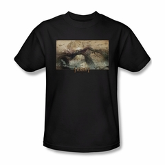 The Hobbit Desolation Of Smaug Shirt Epic Journey Adult Black Tee T-Shirt
