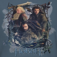 The Hobbit Desolation Of Smaug Three Dwarves Shirts