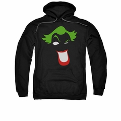 The Joker Hoodie Simplified Black Sweatshirt Hoody
