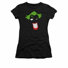 The Joker Shirt Juniors Simplified Black T-Shirt
