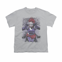 The Joker Shirt Kids Jokers Daughter Silver T-Shirt