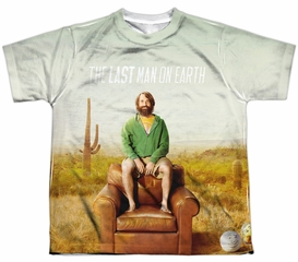 The Last Man On Earth Shirt Cast Sublimation Youth Shirt