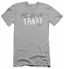 The Last Man On Earth Slim Fit Shirt Tandy Silver T-Shirt